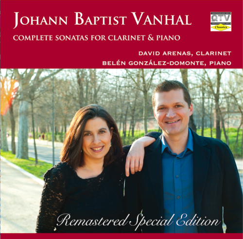VANHAL SONATAS FOR CLARINET & PIANO