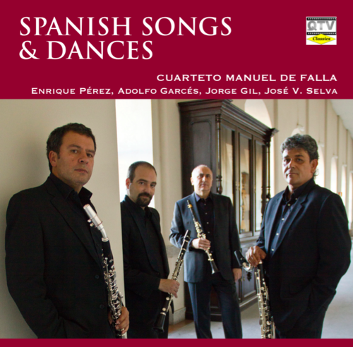 SPANISH SONGS AND DANCES, CUARTETO M. FALLA